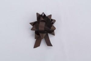 MO�O CARTUJITO #2 CINTA PAPEL TEXTURIZADA CACAO (75) - D. 8,5 cm